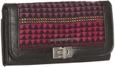Roxy Knockout Wallet (Black) - Bags and Luggage