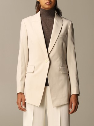Theory Blazer Single-breasted Wool Jacket