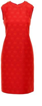 Gucci GG Sleeveless Button Detail Dress