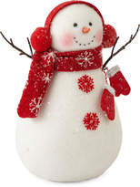North Pole Trading Co. Christmas Cheer 10 Snowman Figurine