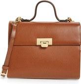 Lodis Medium Bree Leather Crossbody Bag