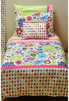 Bacati Botanical Sanctuary Toddler Bedding Collection Color: Pink