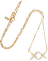 Elizabeth and James Vida Gold-Tone Crystal Necklace