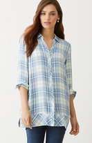 J. Jill Yarn-Dyed Plaid Tunic