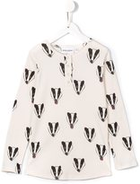 Mini Rodini 'Badger Grandpa' T-shirt