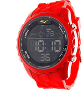 Everlast Red Digital Watch