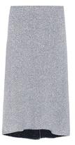 Balenciaga Metallic Knitted Skirt