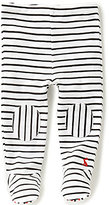 Joules Baby Boys Newborn-12 Months Patacake Patch Striped Footed Pants