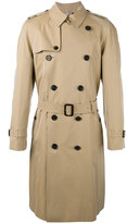 Burberry The Westminster long heritage trenchcoat - men - Cotton/Viscose - 50