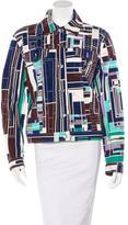 Emilio Pucci Printed Collared Jacket