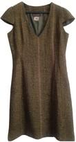 Antik Batik Khaki Wool Dress for Women