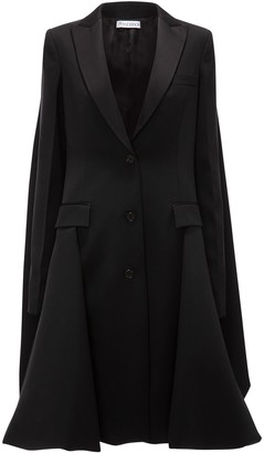 J.W.Anderson Single-Breasted Draped-Back Coat