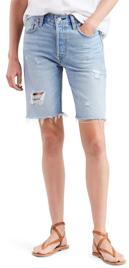 Levi's 501(R) Ripped Slouch Shorts
