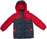 Big Chill Charcoal Colorblock Bubble Jacket - Toddler & Boys
