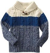 Gap Colorblock shawl pullover