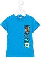 Moschino Kids - logo print T-shirt - kids - Cotton - 6 mth
