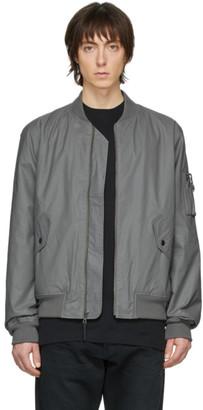 John Elliott Grey Bogota II Bomber Jacket