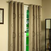 Commonwealth Home Fashions Thermalogic® Brooke Printed Grommet 84-Inch Window Curtain Panel