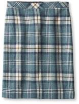 L.L. Bean Women's Eastport Wool Skirt, Plaid