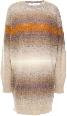 IRO Carlyle Degrade Mohair-blend Mini Dress