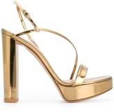 Gianvito Rossi Kimberly chunky heel sandals