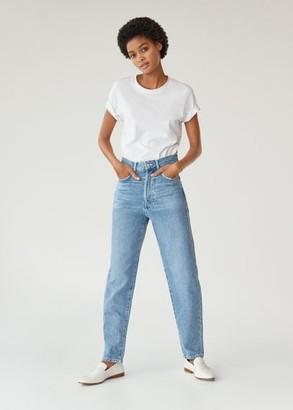 MANGO High waist slouchy jeans