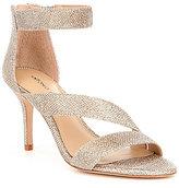 Antonio Melani Jaydyn Banded Glitter Ankle Strap Dress Sandals