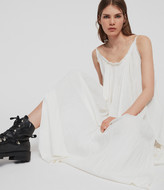 AllSaints Romey Long Dress