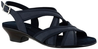 Easy Street Shoes Viola Strappy Sandal - Multiple Widths Available