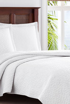 Tommy Bahama Solid Catalina Full/Queen Quilt Set - Multi