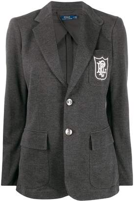 Polo Ralph Lauren regular-fit embroidered logo blazer