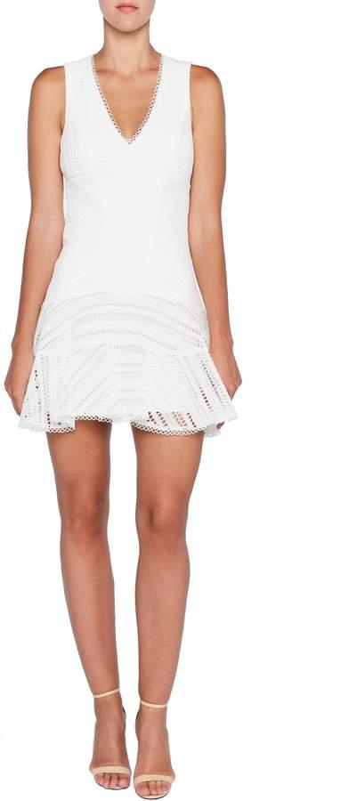 Bardot FIesta Embroidered Lace Sheath Dress