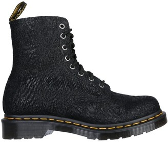 Dr. Martens Pascal Glitter Lace-Up Ankle Boots