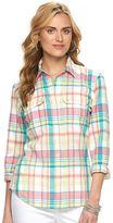 Chaps Women's Plaid Shirt
