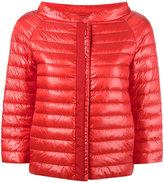 Herno three-quarters sleeve jacket - women - Cotton/Polyamide/Spandex/Elastane/Goose Down - 44