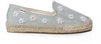 Soludos Daisies Embroidered Floral Espadrille
