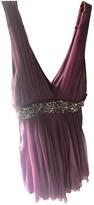 Galliano Pink Silk Dress for Women