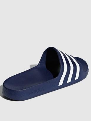 adidas Adilette Aqua Slides - Navy
