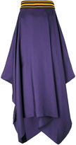 Roksanda asymmetric draped skirt - women - Silk - 10