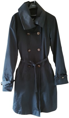 Gerard Darel Black Trench Coat for Women