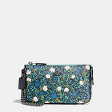 Coach Nolita Wristlet 19 In Yankee Floral Print Coated Canvas