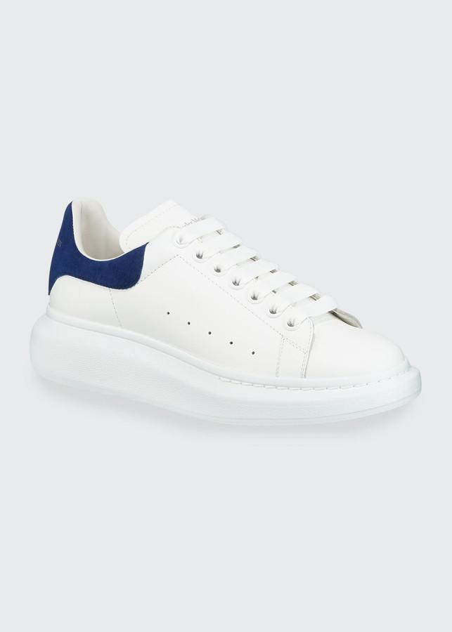 Alexander McQueen Blue Men's Sneakers