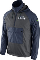 Nike Men's Seattle Seahawks Anorak Pullover Jacket