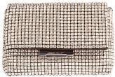 Karen Millen Diamante Clutch Bag, Silver