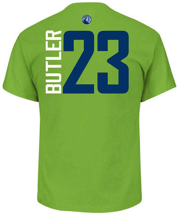 Majestic Men Jimmy Butler Minnesota Timberwolves Vertical Name and Number T-Shirt