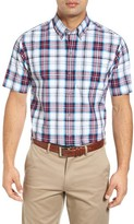 Cutter & Buck Men's Nicolai Check Wrinkle Free Sport Shirt