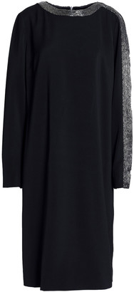 Amanda Wakeley Bead-embellished Crepe Dress