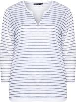 Jette Joop Plus Size Striped jersey top