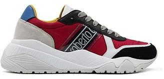 Roberto Cavalli Sport Multicolor Blend Sneakers