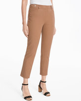 White House Black Market Curvy Slim Crop Pants